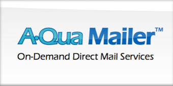 Aqua mailer from Lorton Data software