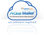 A-Qua mailer from Lorton Data software