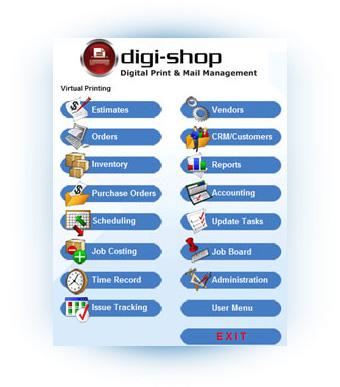Virtual Systems Digi-Shop Digital Print & Mail Management